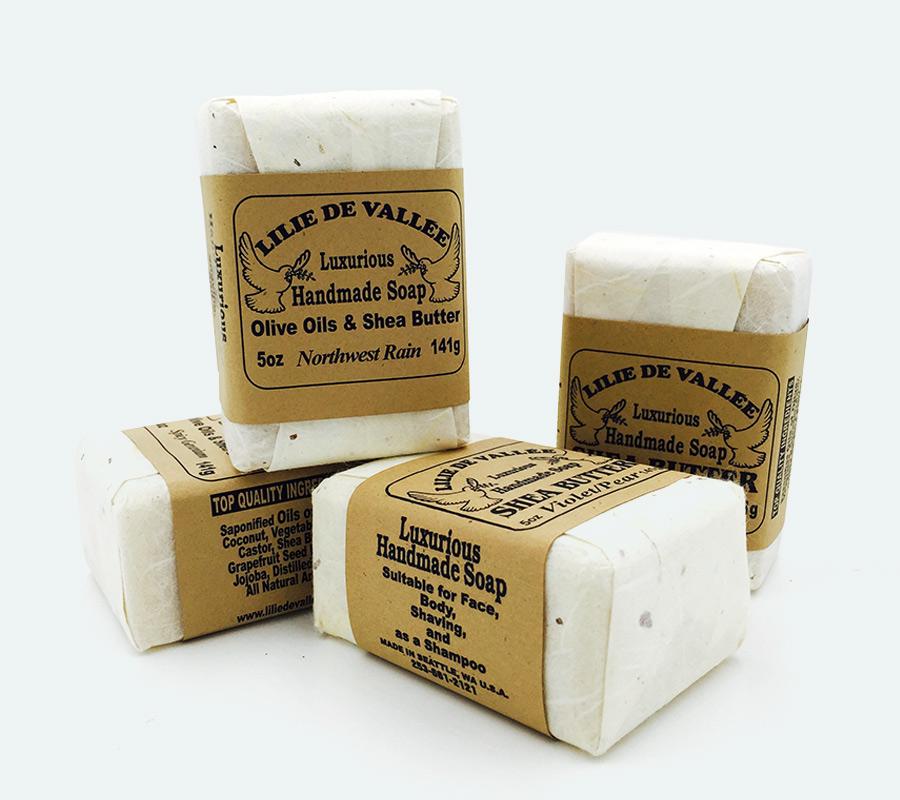 Olive Oil Amp Shea Butter Handmade Soap Lilie De Vallee