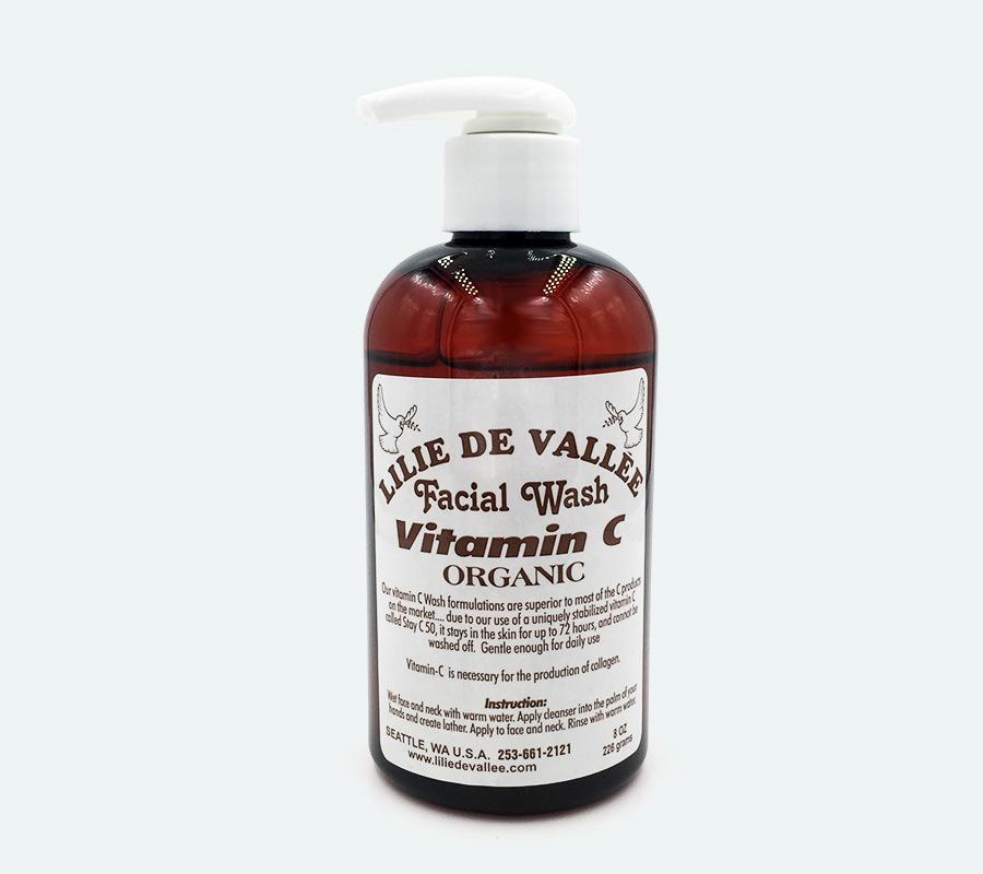 vitamin c facial product